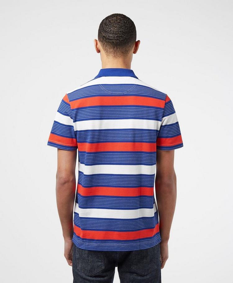 Lacoste Classic Stripe Short Sleeve Polo Shirt