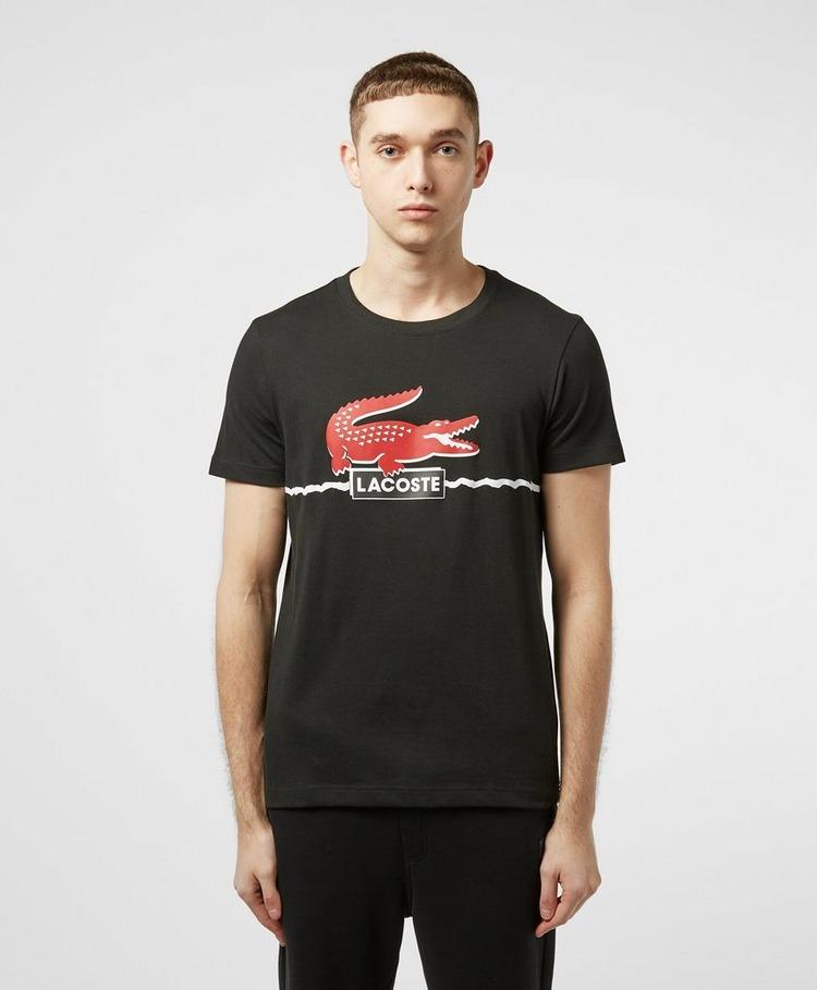 Lacoste New Croc Logo Short Sleeve T-Shirt