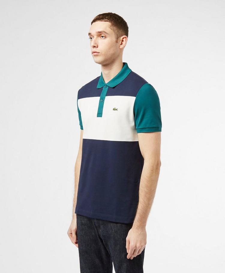 Lacoste Colour Block Short Sleeve Polo Shirt