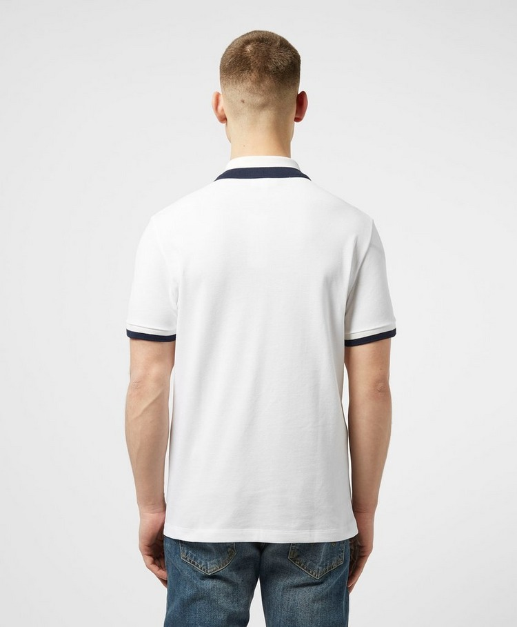 Lacoste Tipped Collar Short Sleeve Polo Shirt