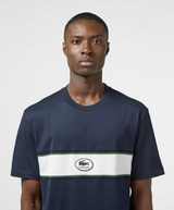 Lacoste Central Logo Band Short Sleeve T-Shirt