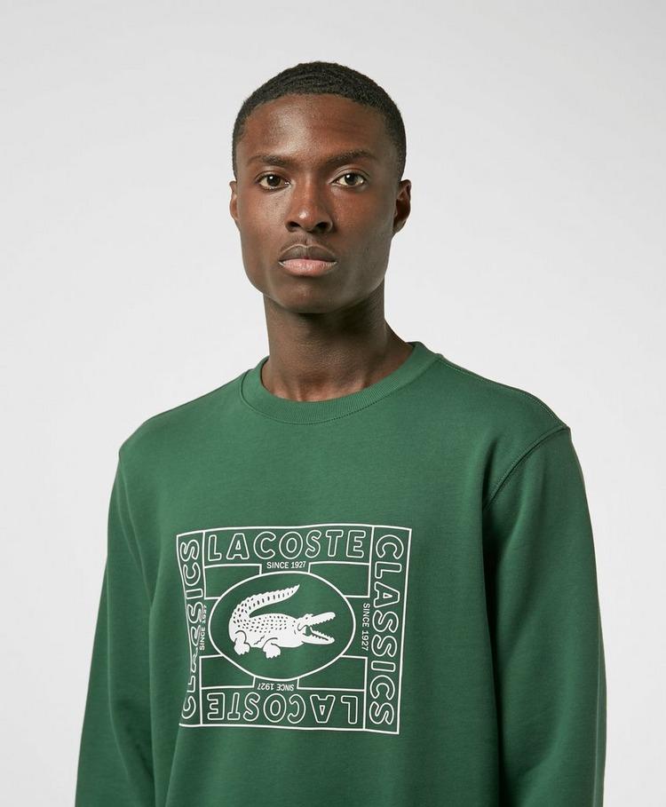 Lacoste Box Croc Sweatshirt