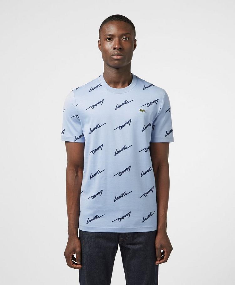 Lacoste Live Print Short Sleeve T-Shirt