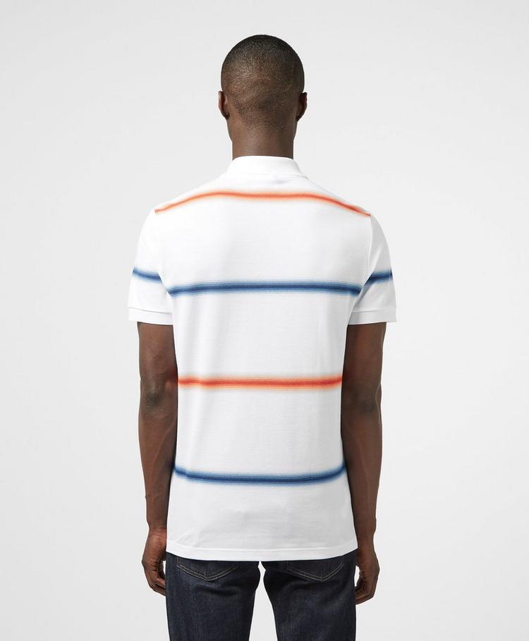 Lacoste Multi Stripe Short Sleeve Polo Shirt