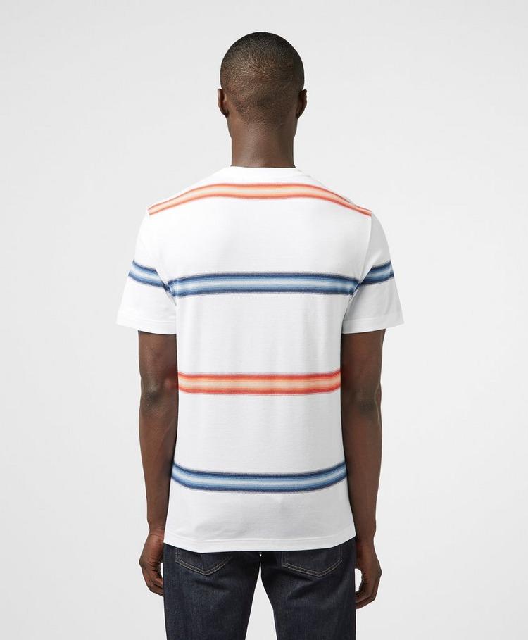 Lacoste Fade Stripe Short Sleeve T-Shirt