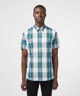 Lacoste Large Check Short Sleeve Shirt