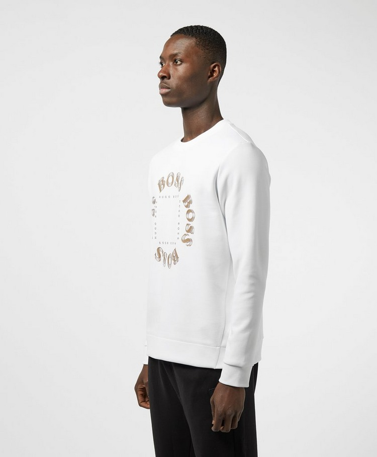 BOSS Salbo Circle Crew Sweatshirt