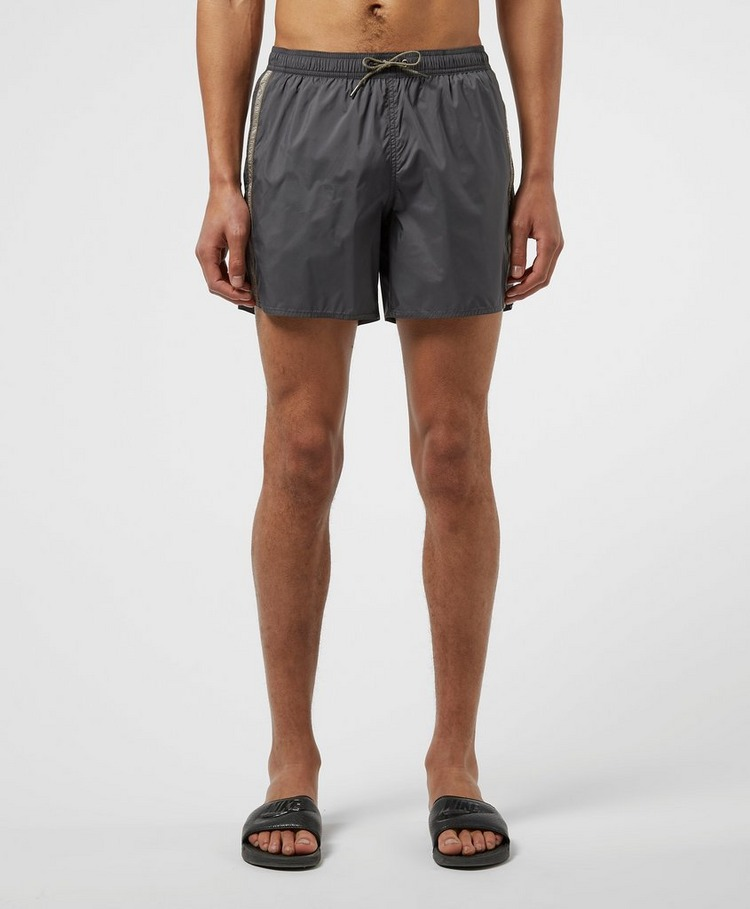 Emporio Armani Loungewear Logo Tape Swim Shorts