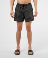 Emporio Armani Loungewear Silver Eagle Swim Shorts