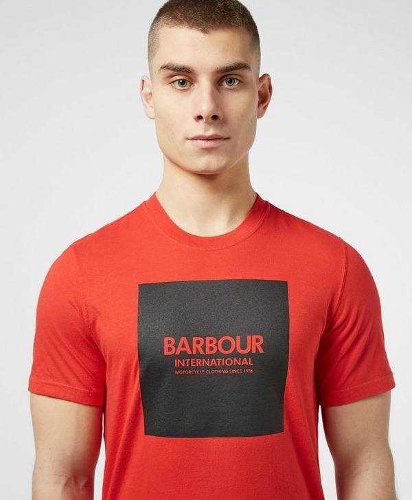 Barbour International Square Logo Short Sleeve T-Shirt