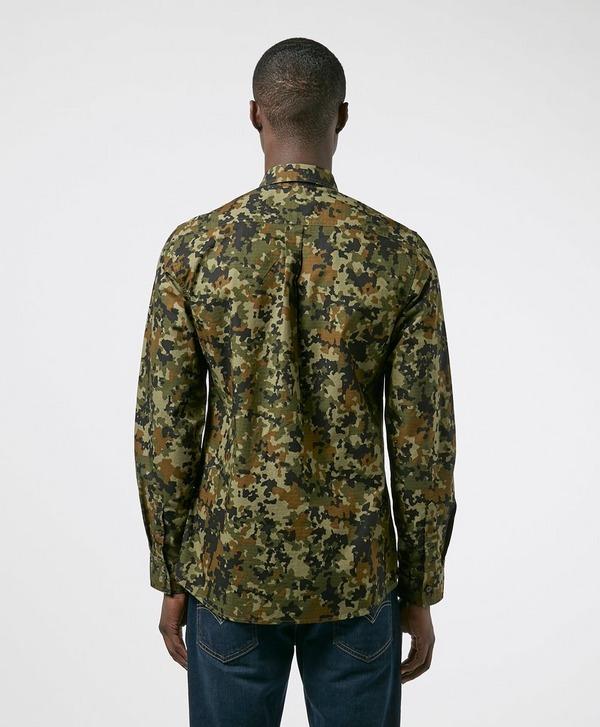 Barbour International Hex Camo Overshirt