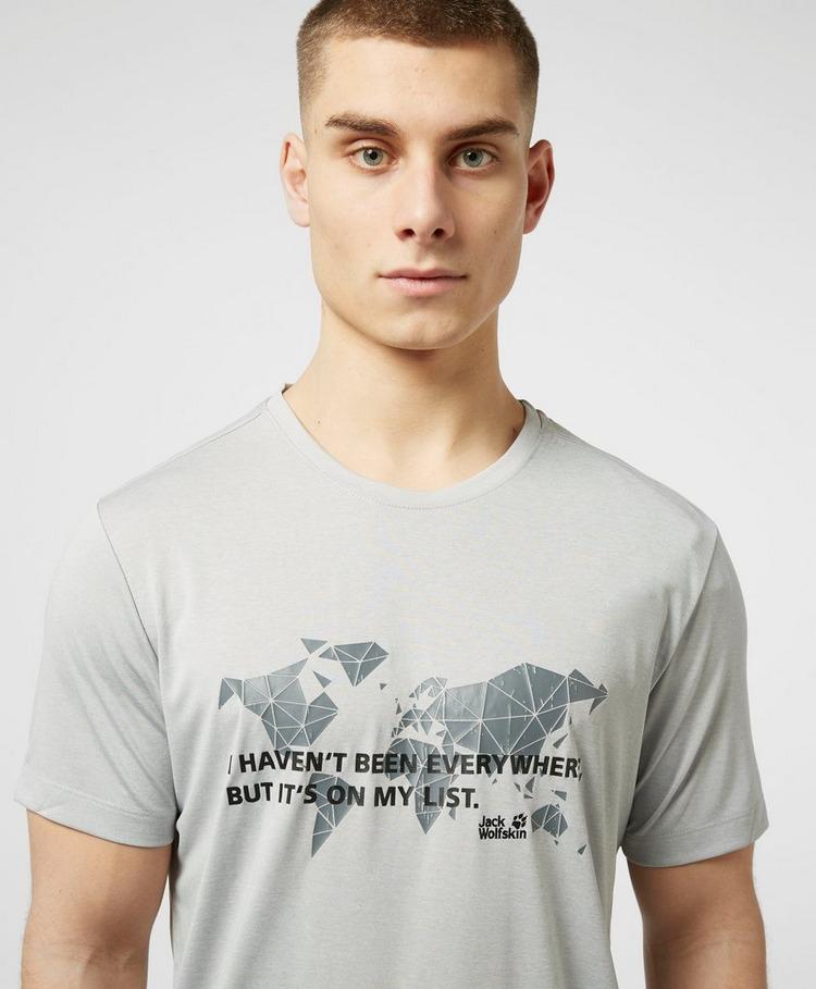 Jack Wolfskin World Graphic Short Sleeve T-Shirt