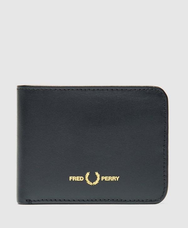 Fred Perry Laurel Wreath Logo Billfold Wallet