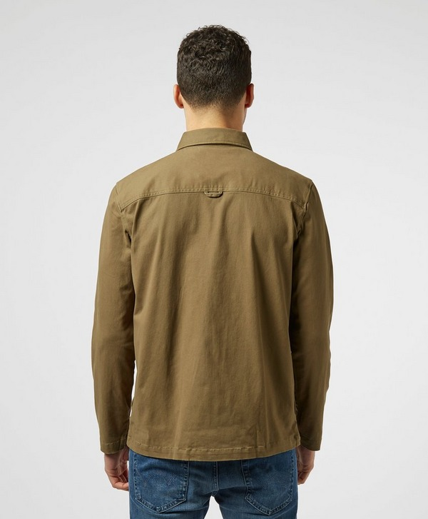 Lyle & Scott Twill Zip Overshirt