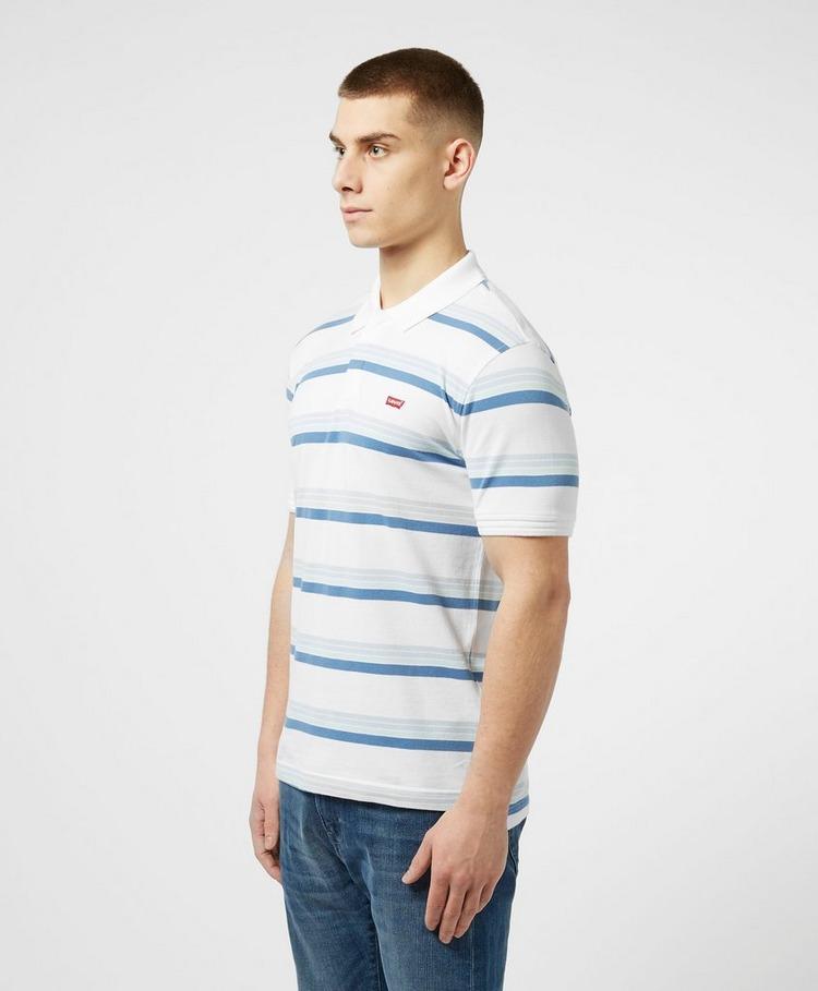 Levis Striped Short Sleeve Polo Shirt