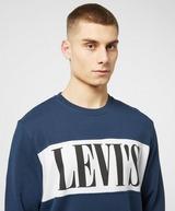 Levis Colourblock Serif Overhead Sweatshirt