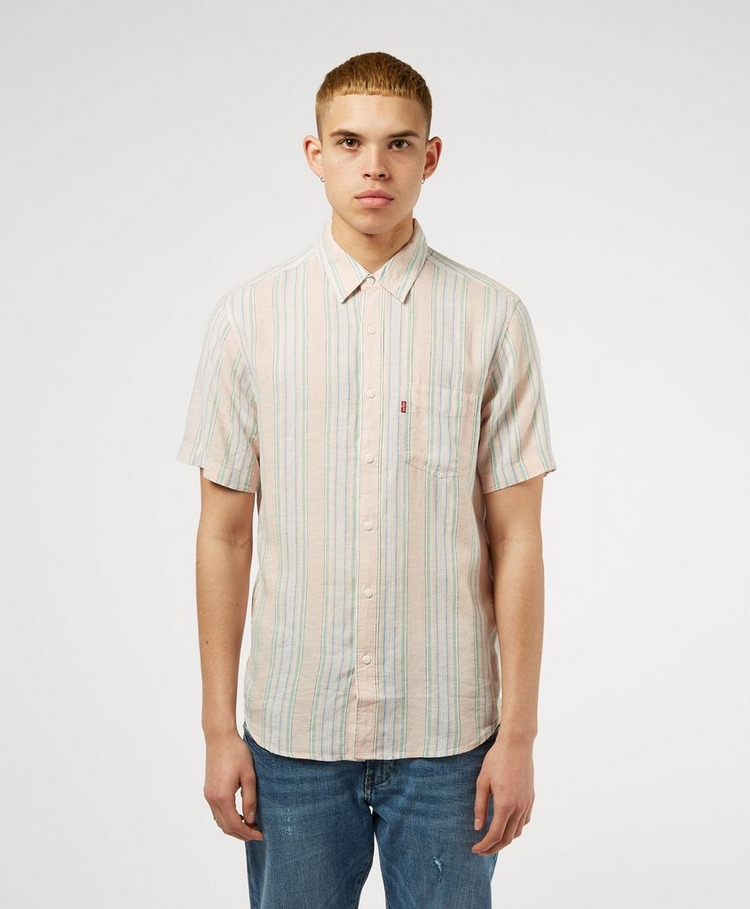 Levis Multistripe Short Sleeve Shirt