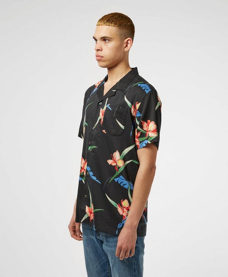 Levis Floral Cuban Short Sleeve Shirt
