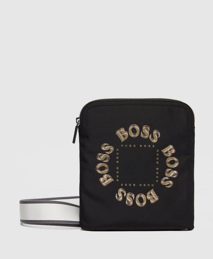 BOSS Small Circle Logo Crossbody Bag