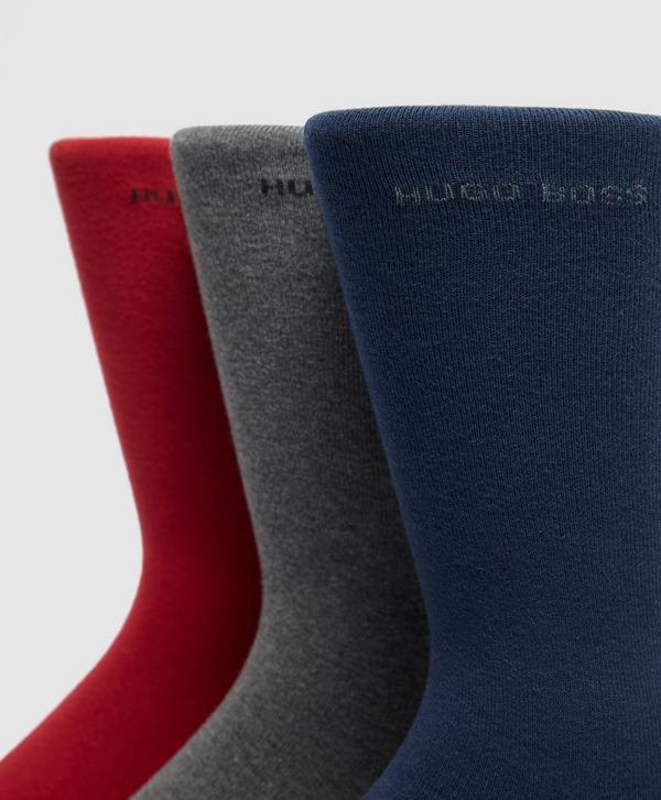 BOSS 3 Pack Socks Gift Set