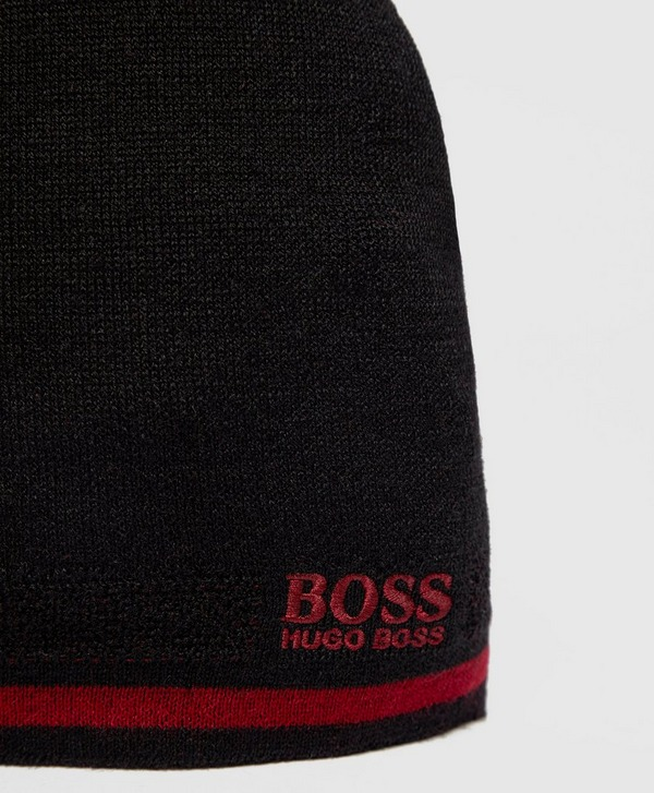 BOSS Hat and Scarf Gift Set