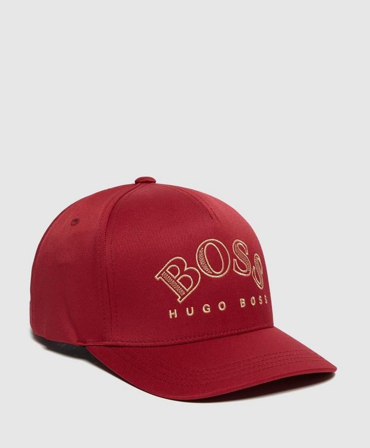 BOSS Metallic Logo Cap
