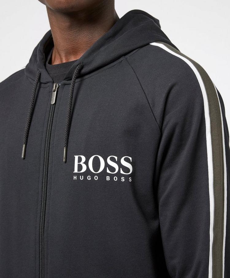 BOSS Authentic Panel Full Zip Hoodie