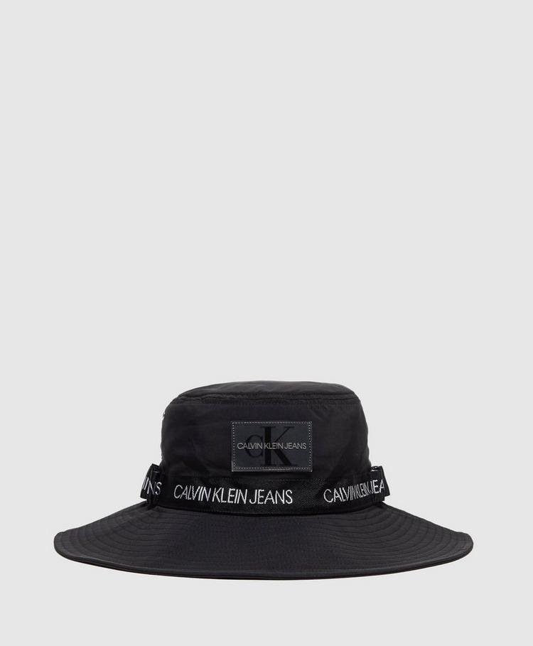Calvin Klein Tape Logo Bucket Hat