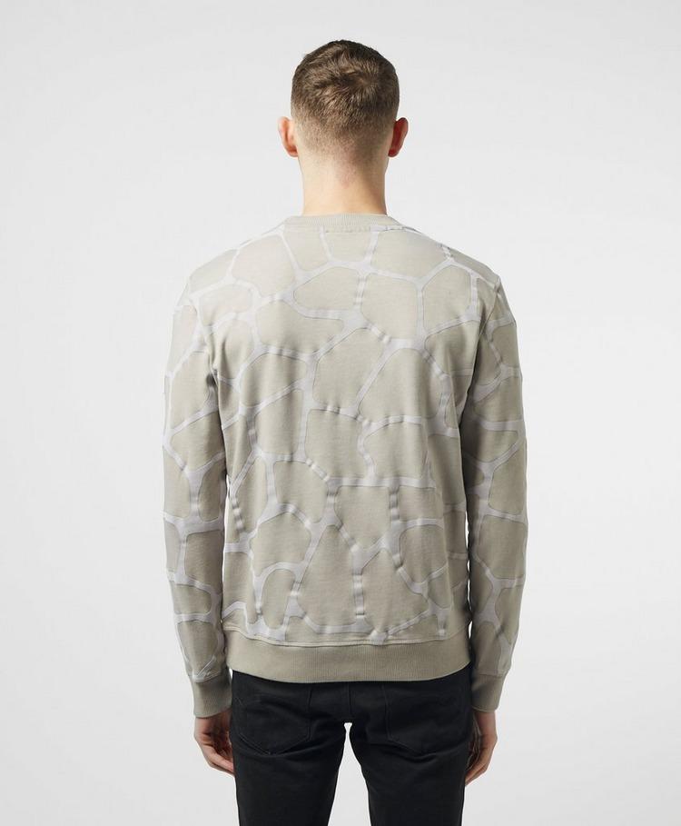 BOSS Wizoo Animal Print Sweatshirt