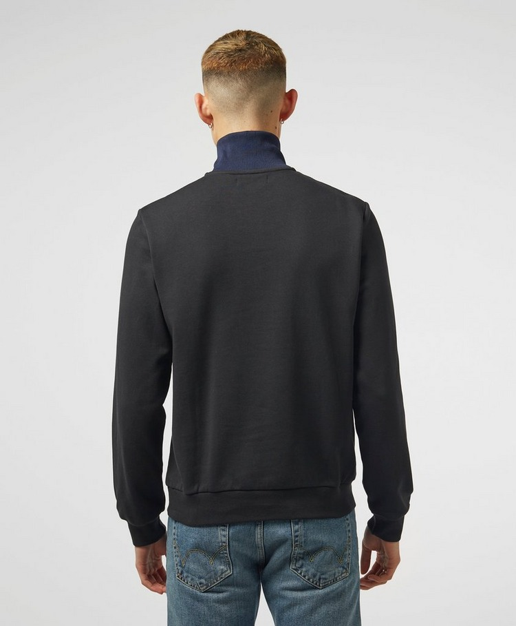 Fred Perry Colour Block 1/4 Zip Sweatshirt