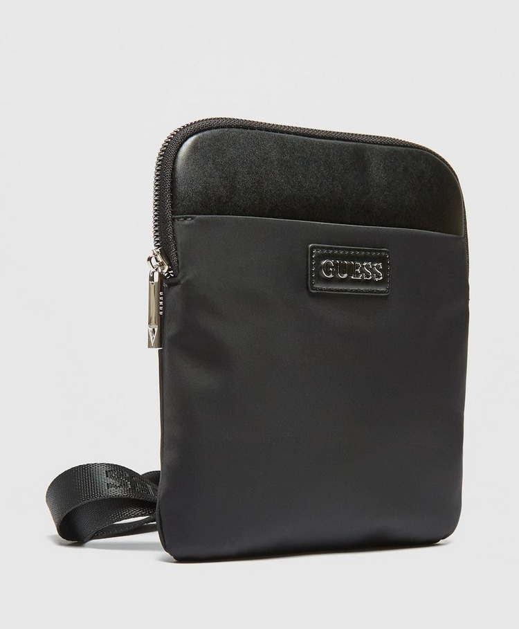 Guess Plaque Logo Cross Body Bag