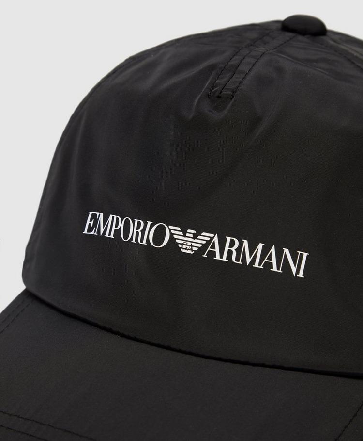 Emporio Armani Small Eagle Logo Cap