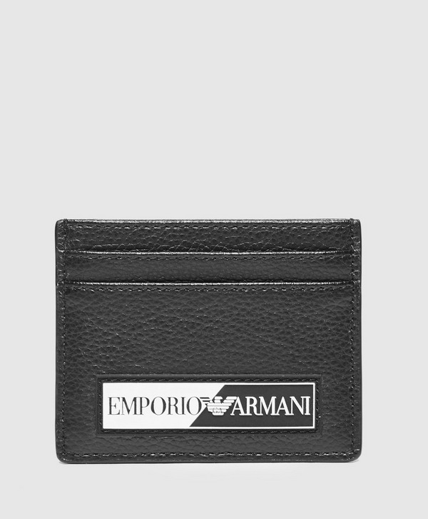 Emporio Armani Monogram Logo Card Holder