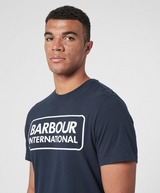 Barbour International Large Logo Short Sleeve T-Shirt