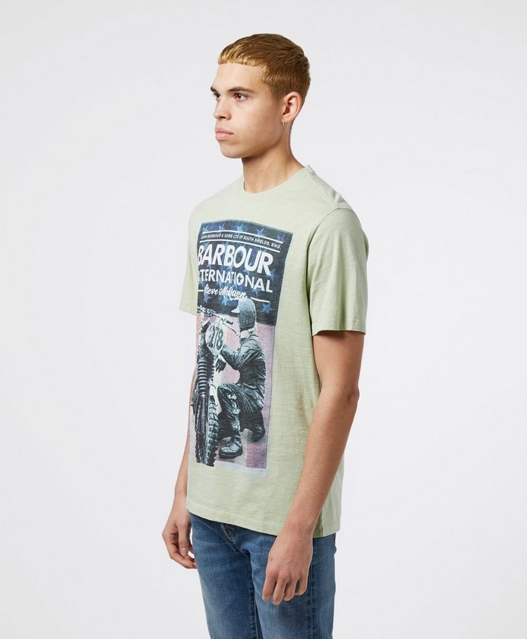 Barbour International Steve McQueen Short Sleeve Fixer T-Shirt
