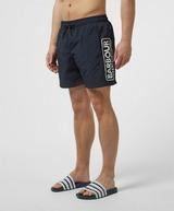 Barbour International Large Logo Swim Shorts