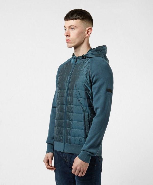 Barbour International Albie Baffle Full Zip Hoodie
