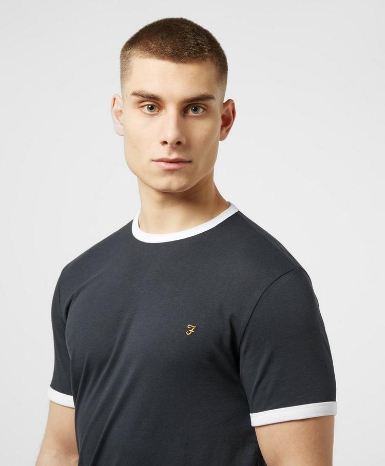 Farah Groves Ringer Short Sleeve T-Shirt