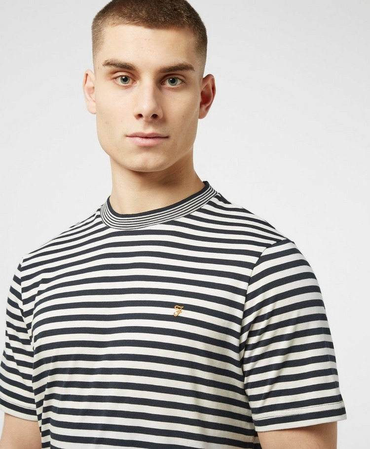 Farah Stripe Ringer Short Sleeve T-Shirt