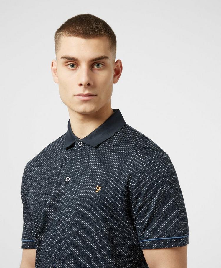 Farah Nino Dot Print Short Sleeve Shirt