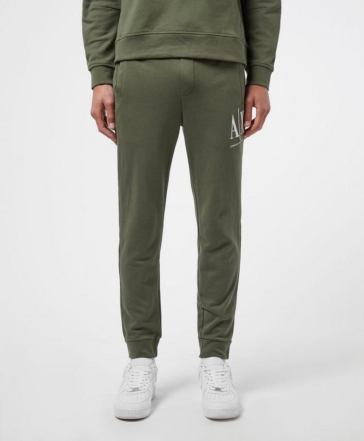 Armani Exchange Icon Logo Cuffed Fleece Pants