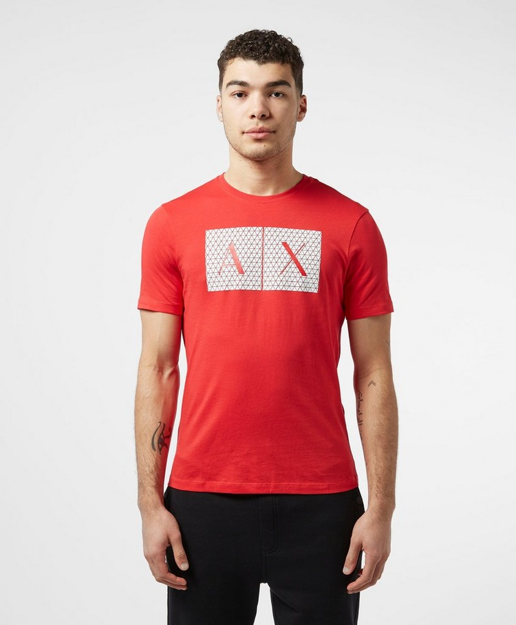 Armani Exchange Geometric Logo Short Sleeve T-Shirt