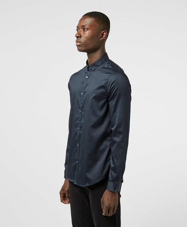 Armani Exchange Signature Logo Long Sleeve Shirt