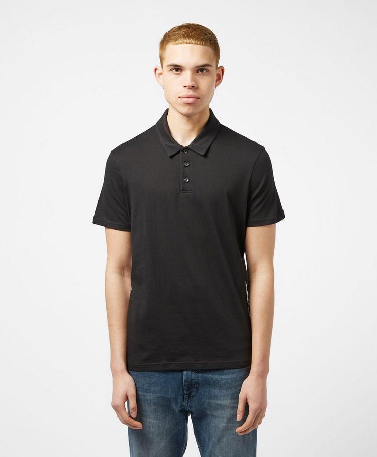 Armani Exchange Side Tape Short Sleeve Polo Shirt