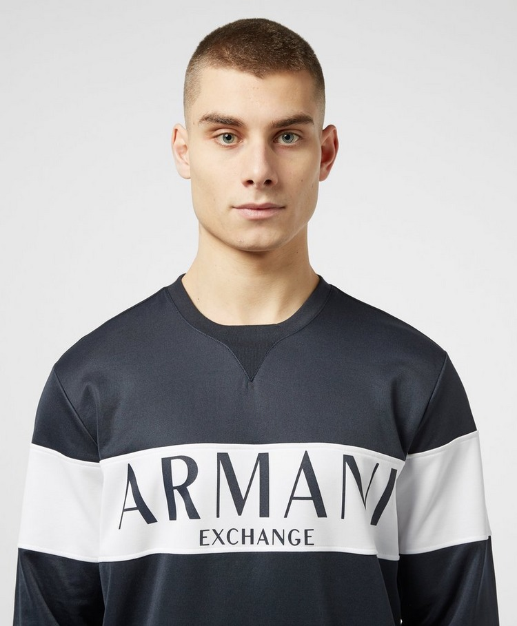Armani Exchange Block Logo Sweatshirt