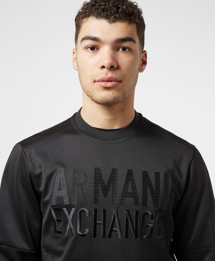 Armani Exchange Embroidered Logo Sweatshirt