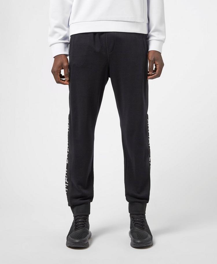 Armani Exchange Logo Hem Fleece Pants