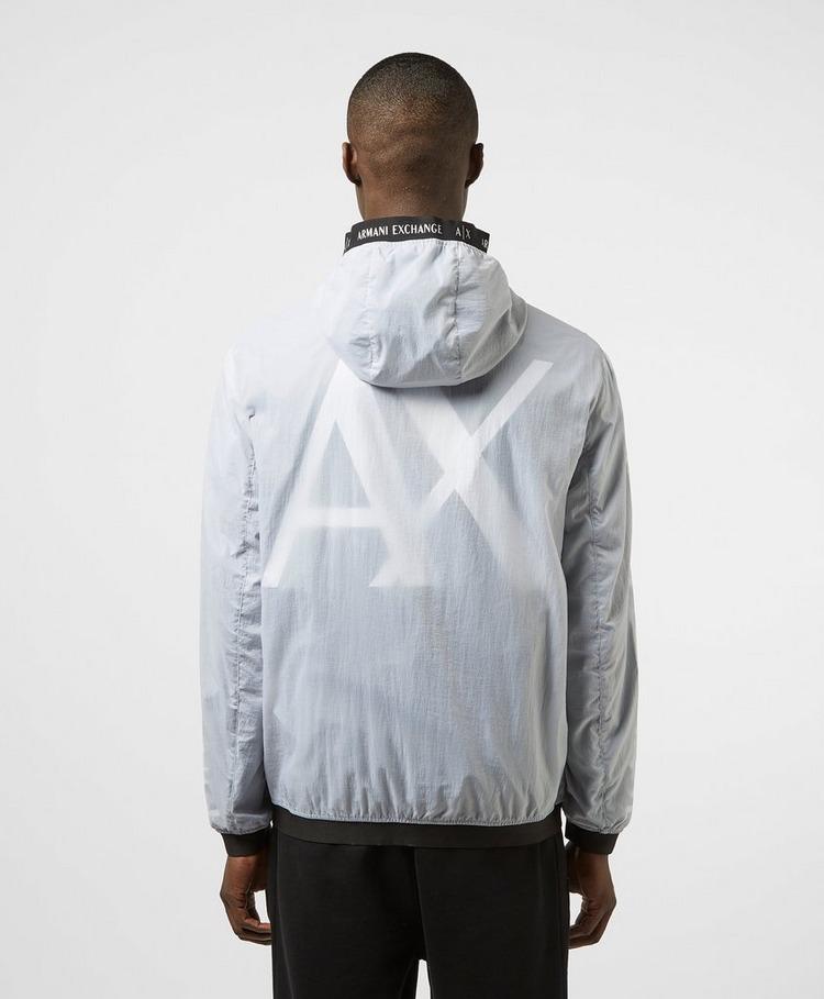 Armani Exchange Logo Tape Hooded Jacket