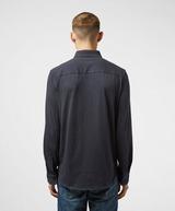 Armani Exchange Piping Pique Mix Long Sleeve Shirt