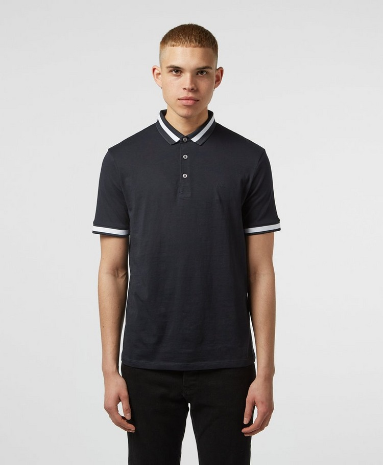 Armani Exchange Wide Tip Short Sleeve Polo Shirt